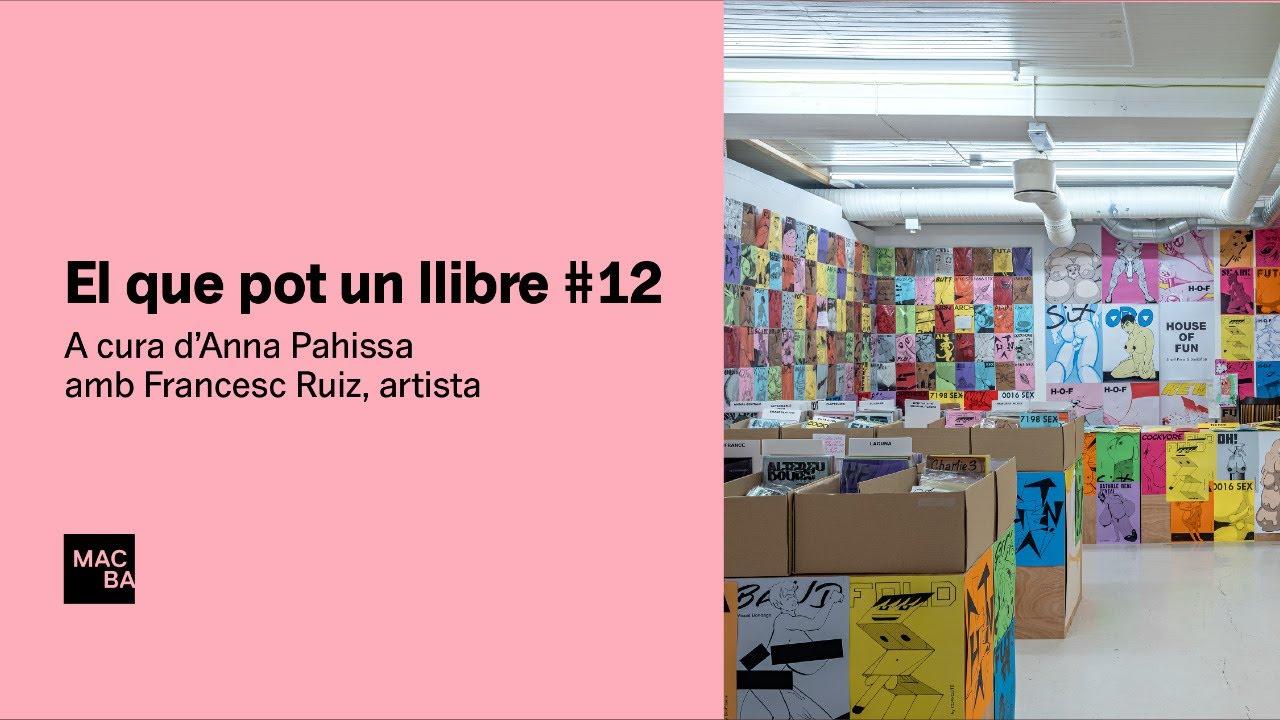 El que pot un llibre #12. Francesc Ruiz